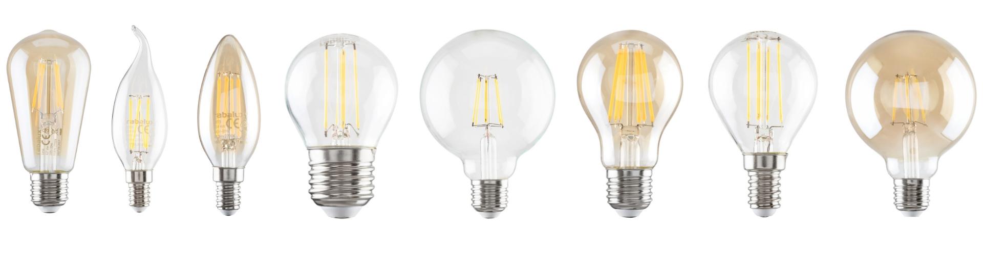 LED vlakna